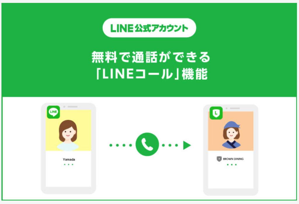 LINEコール