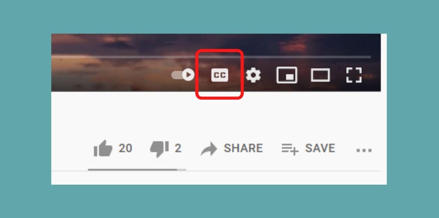 YouTubeテロップ表示の仕方